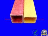 Tube carré thermique de la fibre de verre d'isolation (FRP)