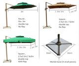 Зонтик сада оборачиваемости 360 градусов профессиональный изготовленный на заказ рекламируя напольный