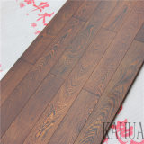 Suelo natural de madera sólida del mejor del precio asimiento retro de la mano