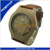 Montre du bois de poignet en bois en gros normal de la montre 2016 pour les hommes