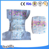 Baby jetable Diapers avec Magic Tapes dans Factory Price