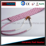 Calentador de cerámica rosado industrial flexible modificado para requisitos particulares de la pista
