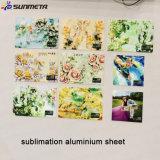 Lamiera sottile di alluminio 2016, lamina di metallo di sublimazione del grado di disegno 5052 della fabbrica di Sunmeta di sublimazione
