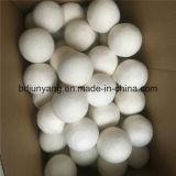 Bille blanche fabriquée à la main de dessiccateur de laines de ramollissant de tissu de bille de blanchisserie