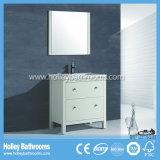 Accessoires classiques populaires américains de salle de bains en bois solide avec le Module de miroir (BV112W)