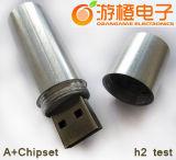 금속 펜 USB 저속한 Drive/USB 지팡이 2.0&3.0 (OM-M198)