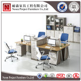 Divisorio di /Workstation/Office della scrivania delle 4 sedi (NS-PT042)