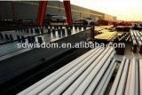 Edificio de marco de acero grande moderno de Q235 Q345 Sapn
