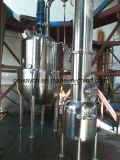 Évaporateur de circulation forcée par crystalliseur industriel efficace élevé de sauce tomate d'évaporation en lots de vide d'acier inoxydable de prix usine