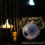 Держатель для свечи искусство стеклянный с СИД Tealights