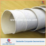 200g 1.0mm 200g HDPE Composite Smooth Geomembrane en Geotextile