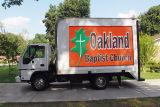 옥외 풀 컬러 P10 이동할 수 있는 LED Advetsing 트럭
