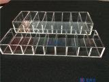 메이크업 조직자 콤팩트 분말 홀더 8 슬롯 아크릴 저장 케이스 상자 해결책