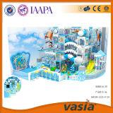 雪の世界のテーマパークの商業使用された子供の屋内運動場(VS1-160108-122A-8-29)