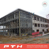 低価格の容易なインストールとのPthからのプレハブの産業鉄骨構造の倉庫