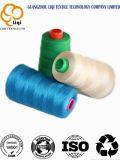 Het Naaiende Garen van de polyester voor Zak die het Gesponnen Garen van 100% Polyester voor het Naaien Gebruik sluiten