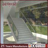 Systèmes en verre en acier de balustrade d'escalier moderne de Chambre (DMS-B2112)