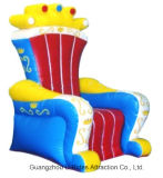 Stoel van de Koningen van Nice de Opblaasbare voor Partij