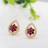 赤925の純銀製の宝石類の一定の熱い販売(J-0051)