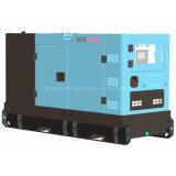 120kVA Yuchai Soundproof Genset Diesel de refrigeração água