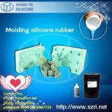 Caoutchouc de silicones RTV-2 corrigé par étain