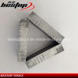 Het Segment van de diamant voor Graniet/Marmer/Zandsteen/Basalt/het Concrete Knipsel van het Blad van de Zaag