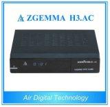 H3 jumeau de Zgemma de tuners de DVB-S2+ATSC. Système d'exploitation linux de récepteur satellite à C.A. FTA pour des glissières de l'Amérique/du Mexique