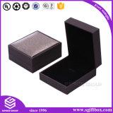 Fornecedor de couro Handmade feito sob encomenda gama alta da caixa de presente da jóia
