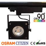 35W квадратный высокий CRI95 УДАР СИД Tracklight с высокой эффективностью 120lm/W