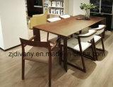 Стул Seating ткани европейской комнаты типа живущий деревянный (C22)