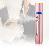 Mini banco portátil da potência com o pulverizador facial 2600mAh da névoa da umidade