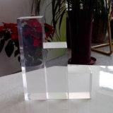 Bloc rectangulaire acrylique Polished clair d'étalage