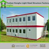 Casa prefabricada móvil de lujo del envase de la casa del edificio