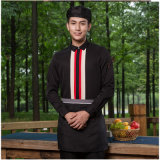Uniforme confortable de serveur de restaurant d'hôtel personnalisé par modèle neuf
