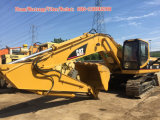 A lagarta usada seguiu a maquinaria do gato 330b da máquina escavadora para a venda