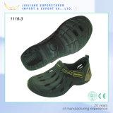Chaussures occasionnelles extérieures de sport d'entraves Holey durables d'EVA
