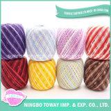 La broderie mince superbe de polyester a varié l'amorçage de couture de coton
