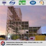 鉄骨構造の発電所のための高層タービンフレーム