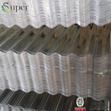 Folha de aço ondulada da telhadura do zinco da telhadura do metal