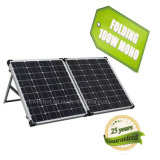 18V portable modificado para requisitos particulares mono 100W plegable el panel solar para acampar