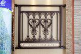 Barandilla de acero galvanizada decorativa de alta calidad 28 del balcón de la aleación de Haohan Alluminum