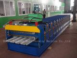 Matériaux de construction de Double couche couvrant le roulis de feuille formant la machine