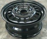 Черная оправа 17X7 зимы колеса стального автомобиля