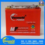 Batterie électrique de gel de batterie de moto de la batterie 12V 7ah de moto pour la qualité superbe