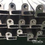 Profil en aluminium irrégulier de bâti de machine