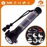 多機能USBの再充電可能な懐中電燈、強力で戦術的なLEDの懐中電燈のトーチ