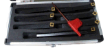 Reeks van het Hulpmiddel van het Carbide van de Grootte van de Duim van Cutoutil de Nieuwe 7PC Indexable Draaiende