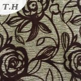 Heißer Verkauf 2016, der Sofa-Gewebe mit schönem Rosen-Muster sich schart