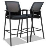 Hzmc085屋内スタック可能黒い棒鋼の高さの椅子