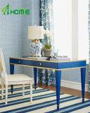 2016のニュース内陸様式の家庭内オフィスの装飾的で青い映されたコンソールテーブル/机